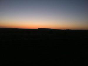 Navajo Nation Sunset