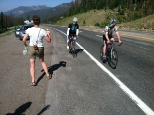 Wolf Creek Pass with Local Rider